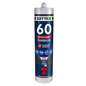 Zettex Polymer kit MS60 290 ml, wit, doos à 12 stuks