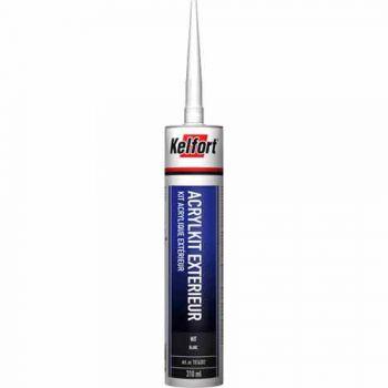 Kelfort Acrylaat kit Exterieur 310 ml, wit, doos à 12 stuks